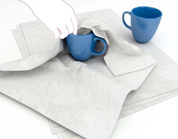 Packseidenpapier grau, 750 x 500 mm