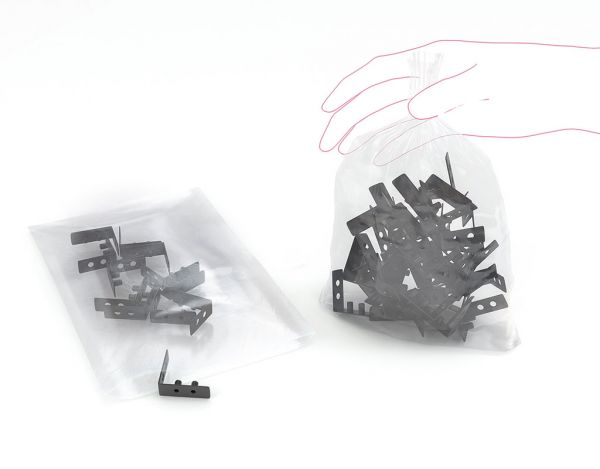 LDPE-Beutel transparent, 300 x 400 mm, 500 St./Kt.